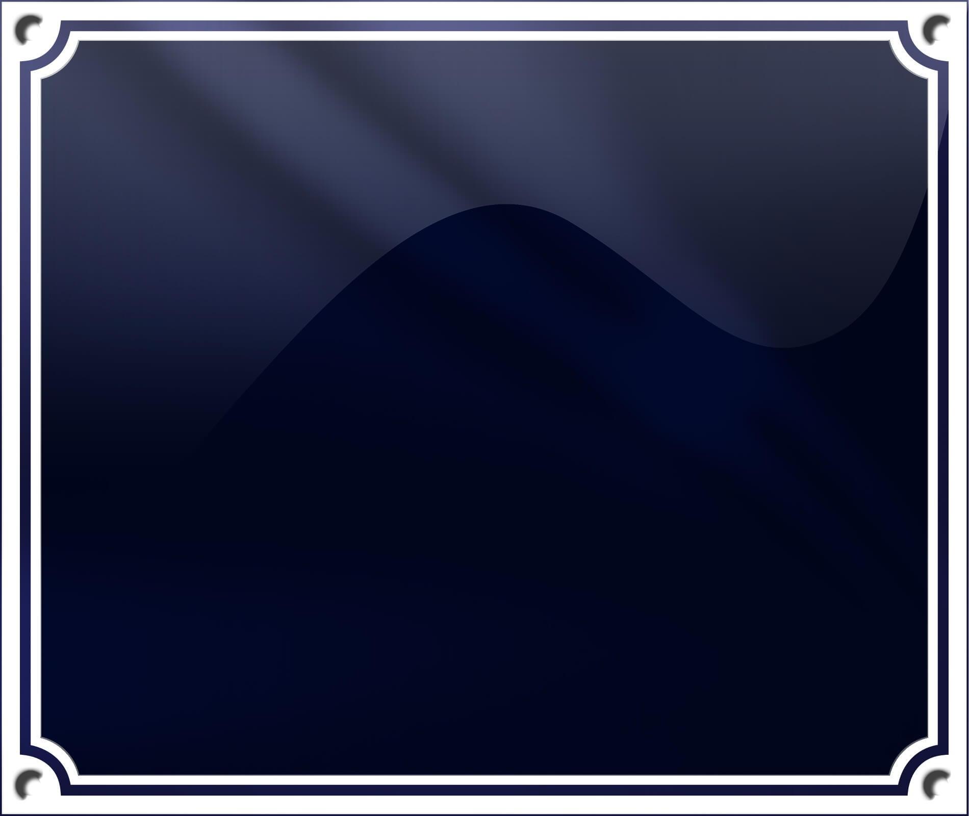 Blå Dobbelt Ramme