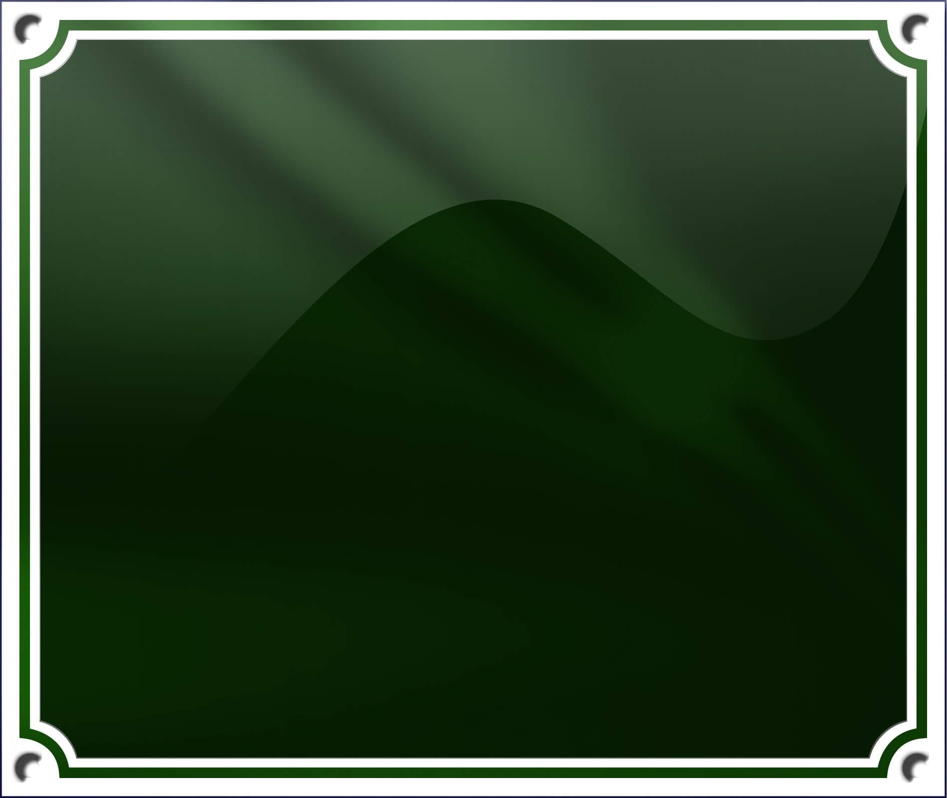 Grøn Dobbelt Ramme