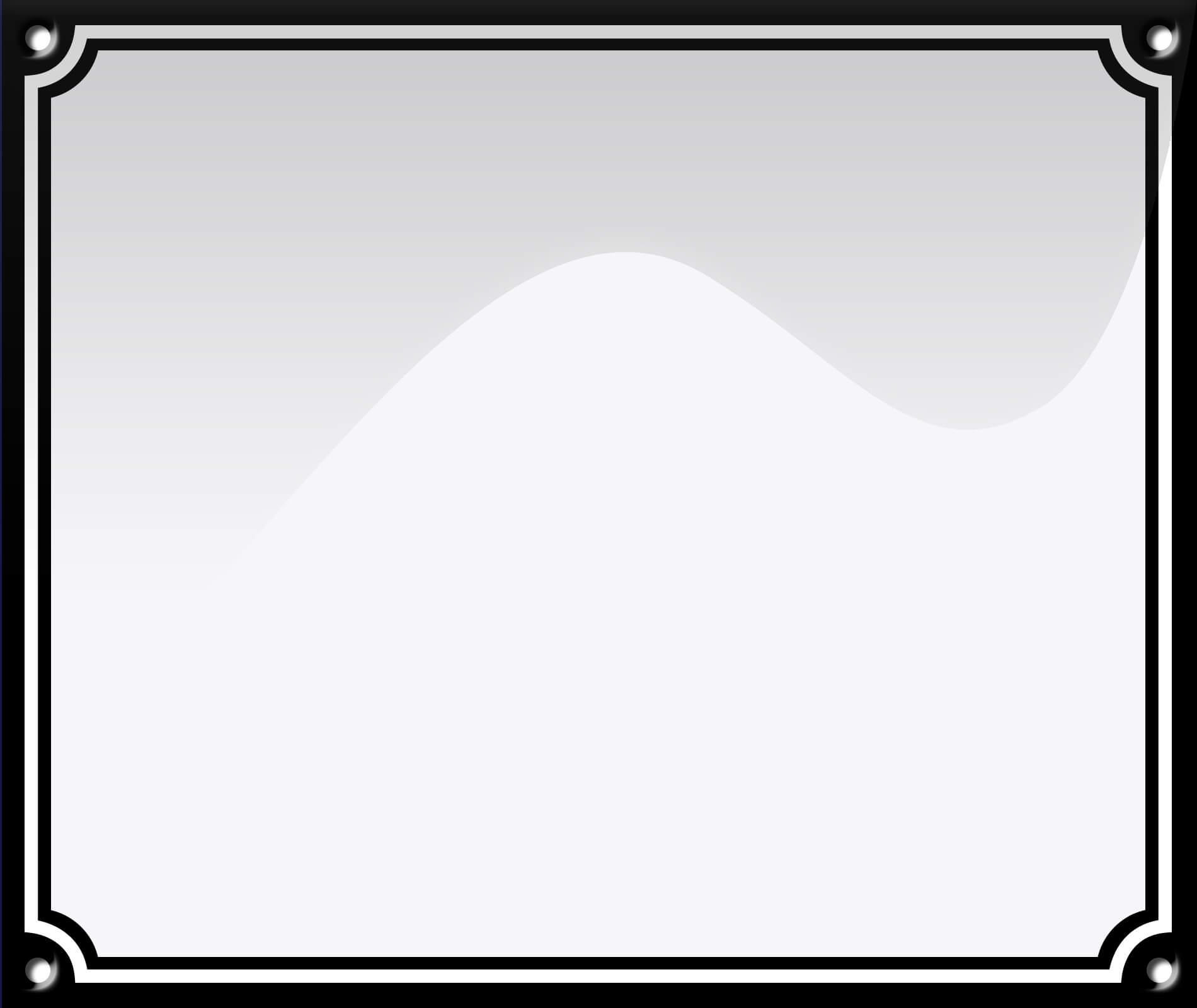 Hvid Dobbelt Ramme