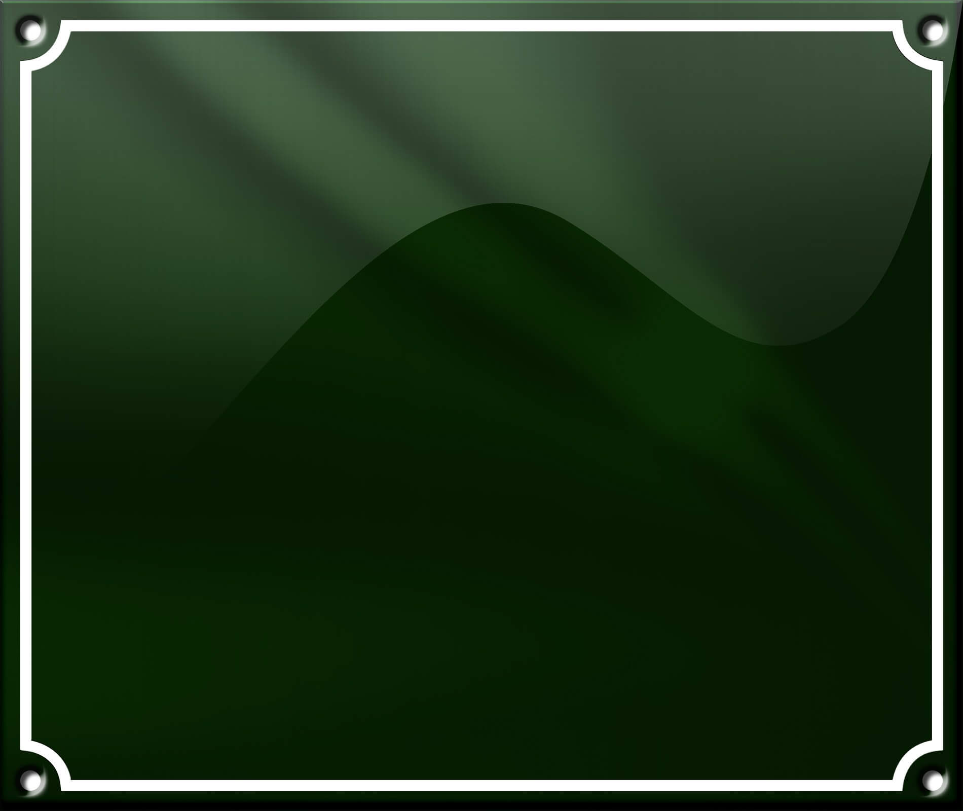 Grøn Enkelt Ramme