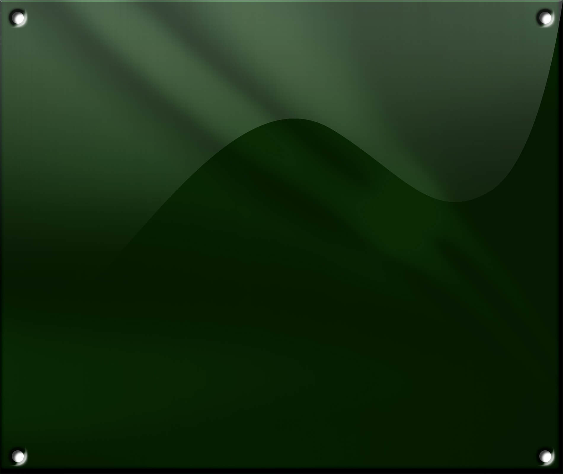 Grøn Uden Ramme